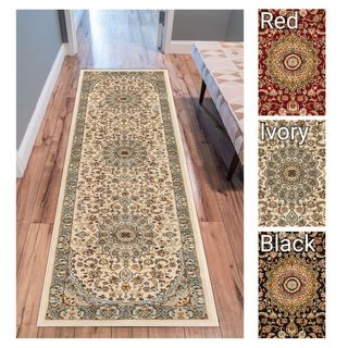 Well Woven Agra Traditional Persian Medallion Rug (2'3 x 7'3 Runner)