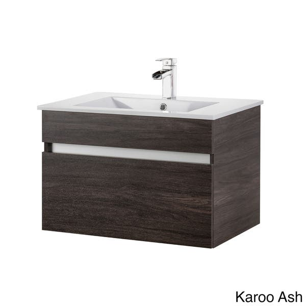Cutler Kitchen And Bath 30 Inch Floating Vanity