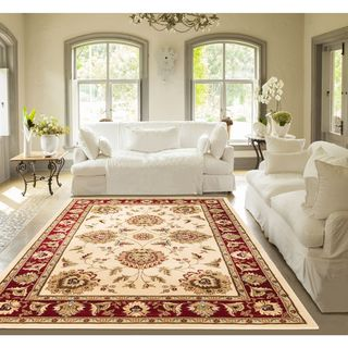 Well Woven Agra Traditional Ushak Oriental Mansion Area Rug - 11' x 15'