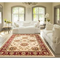 Well Woven Agra Traditional Ushak Oriental Mansion Area Rug - XL
