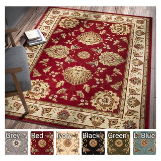 Well Woven Agra Traditional Ushak Oriental  Area Rug (5'3 x 7'3)