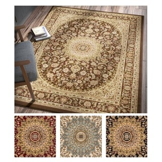 Well Woven Agra Traditional Persian Medallion Area Rug (5'3 x 7'3)