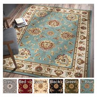Well Woven Agra Traditional Ushak Oriental Area Rug - 6' x 9'