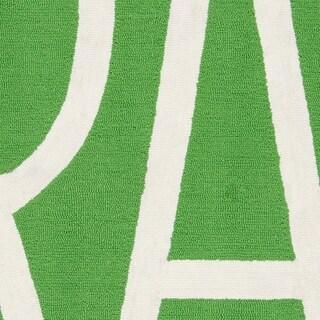 "Novogratz by Momeni Portico Indoor/Outdoor Green Grass Rug (3'9"" x 5'9"") - 3'9"" x 5'9"""
