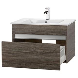 Cutler Kitchen U0026 Bath Amazon Collection Wood 36 Inch Floating Vanity
