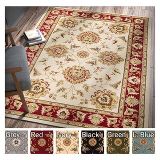 Well Woven Agra Traditional Ushak Oriental  Area Rug (7'10 x 10'6 )