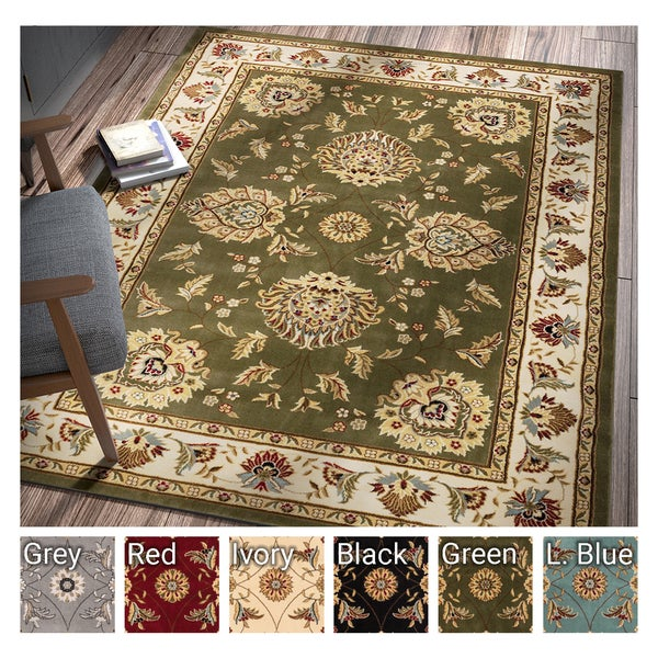 "Well Woven Agra Traditional Ushak Oriental Area Rug - 9'3"" x 12'6"""