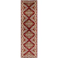 eCarpetGallery Hand-knotted Royal Kazak Red Wool Rug (2'9x10')