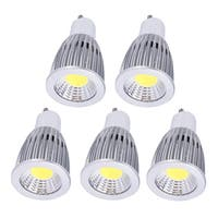 Aluminum Housing Bright GU10 12W LED COB Spot Light Bulb 110V (Box of 5)