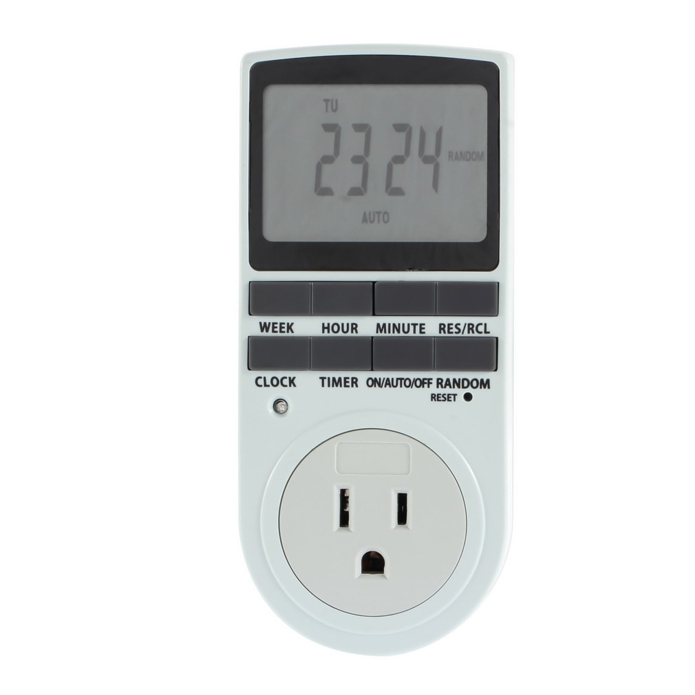 US UK AU Plug in 7 Day 12/24h AC Digital LCD Programmable...