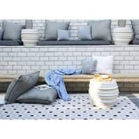 """Novogratz by Momeni Terrace Hex Tile Indoor/Outdoor Rug - 7'10"""" x 9'10"""""""