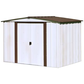 Arrow Newburgh Steel 8-foot x 6-foot Storage Shed