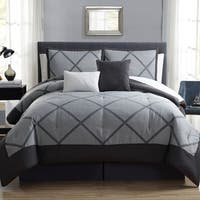 Hamilton Hall Xavier Lattice 10 Piece Comforter Set