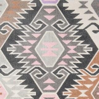 "Novogratz by Momeni Terrace Multi Geometric Indoor/Outdoor Rug (3'3"" x 5') - 3'3"" x 5'"