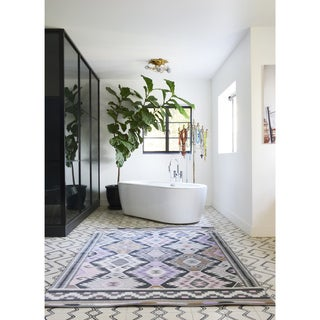 "Novogratz by Momeni Terrace Multi Geometric Indoor/Outdoor Rug (3'3"" x 5')"
