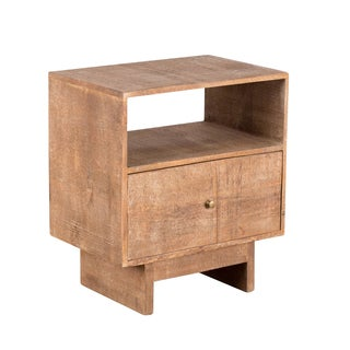 CG Sparks Handmade Cubist Artisan End Table (India)