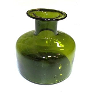 MEDICINE JAR GLASS VASE