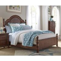 Isle of Palms Light Mahogany Panel Bed by Panama Jack