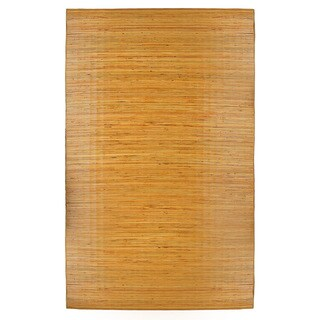 Handmade Bali Natural Bamboo Area Rug, 5' x 8' (Bali)