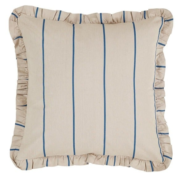 Charlotte Stripe Cotton Linen Blend Euro Sham