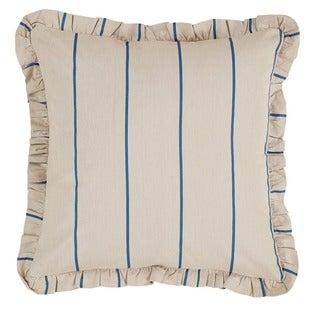 Charlotte Stripe Cotton Linen Blend Euro Sham