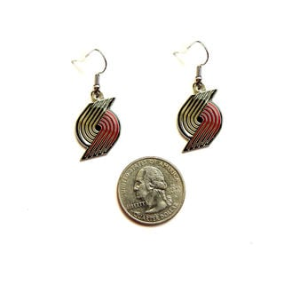 NBA Portland Trail Blazers Dangle  Charm Earring Set