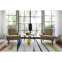 Novogratz by Momeni Tag Family Wool Hand Tufted Rug - 8' x 10'