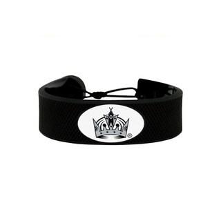 NHL LA Los Angeles Kings Hockey Puck Rubber Bracelet