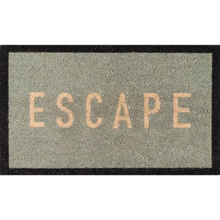 "Novogratz by Momeni Aloha Escape Coir Doormat (1'6"" x 2'6"")"
