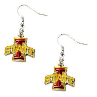 NCAA Iowa State Cyclones Dangle Logo Earring Set Charm Gift