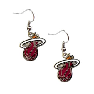 NBA Miami Heat Dangle Logo Earring Set Charm Gift