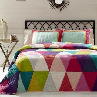 Taylor Cotton King Size Quilt Set