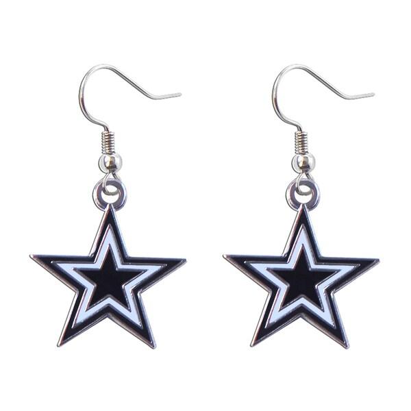 NFL Dallas Cowboys Dangle Logo Earring Set Charm Gift