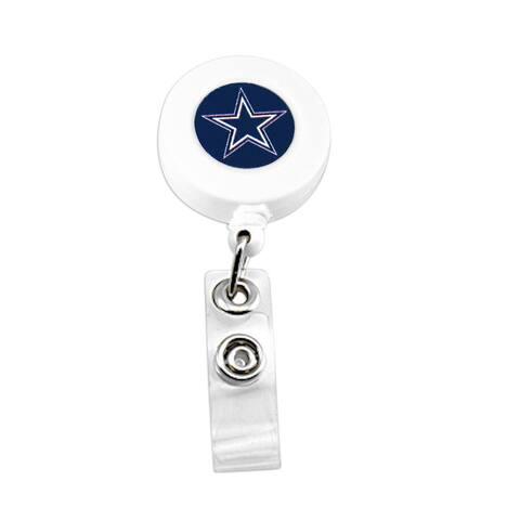NFL Dallas Cowboys Retractable Badge Reel Id Ticket Clip