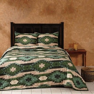 Sante Fe Cotton Quilt (Shams Not Included)