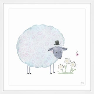 'Noble Sheep' Framed Painting Print