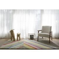 Novogratz by Momeni Delmar Asymmetric Stripe Wool Rug (9' x 12') - 9' x 12'