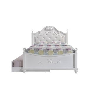 Picket House Furnishings Annie Full Platform Bed with Storage Trundle