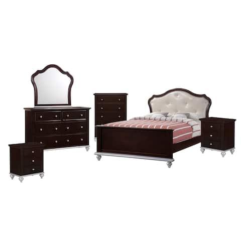 Picket House Furnishings Alli Full Platform 6PC Bedroom Set w/ Storage Trun
