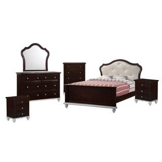Picket House Furnishings Alli Full Platform 6PC Bedroom Set w/ Storage Trun