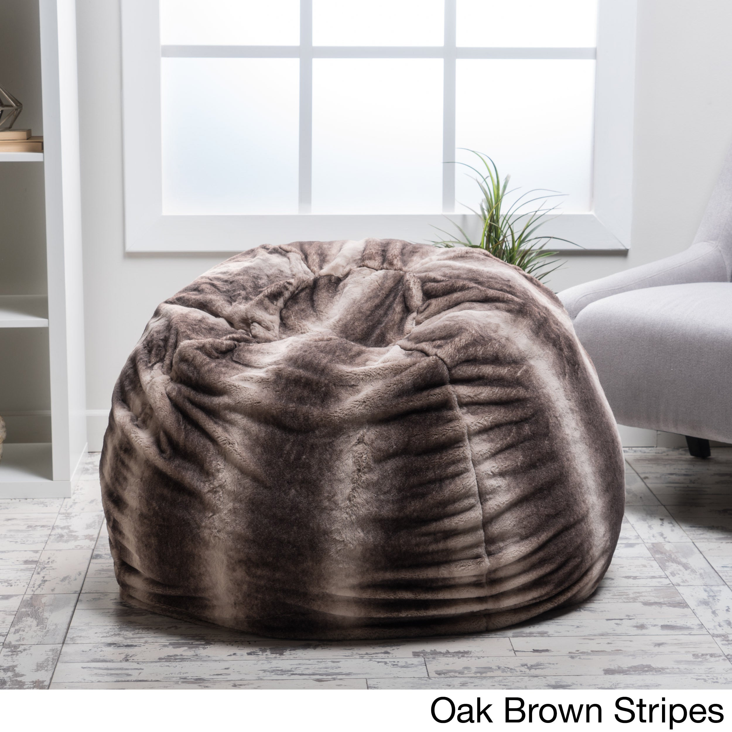 lounge beanbag chair by christopher knight home bean bag chairs for less   overstock    rh   overstock