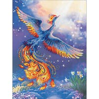 "Bird Of Happiness Counted Cross Stitch Kit-11.75""X15.75"" 14 Count"