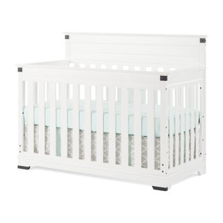 Child Craft Redmond 4-in-1 Matte White Wood Convertible Crib