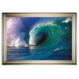 Waimea Bay Wave -Silver Frame