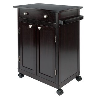 Savannah Wood Kitchen Cart