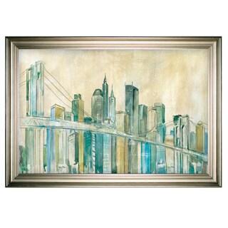 New York City Sketch -Silver Frame