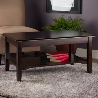 Nolan Capoucino Finish Coffee Table