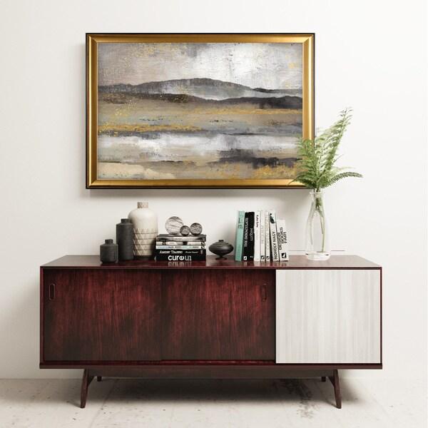 Rolling Hills - Gold Frame