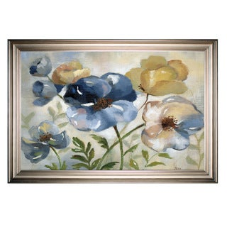 Winter Blooms -Silver Frame