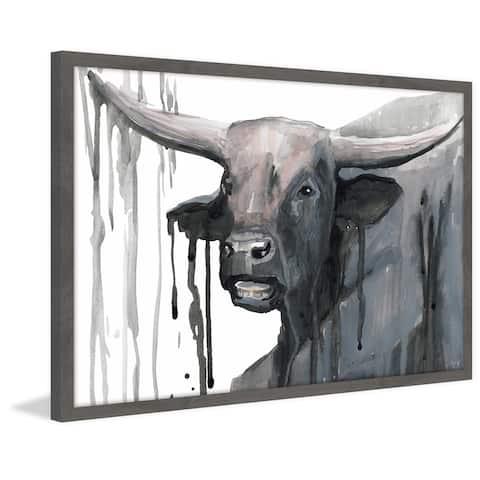 Marmont Hill - Handmade Buffalo Bill Framed Print